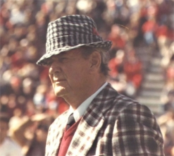 "Paul W. ""Bear"" Bryant(Photo from Wikipedia)"
