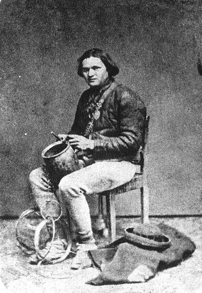 An actual tinker.  Photo credit: Ignacy Krieger (1817-1889)