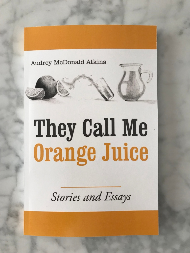 They Call Me Orange Juice paperback book